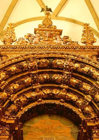 Pormenor Concatedral de Miranda do Douro